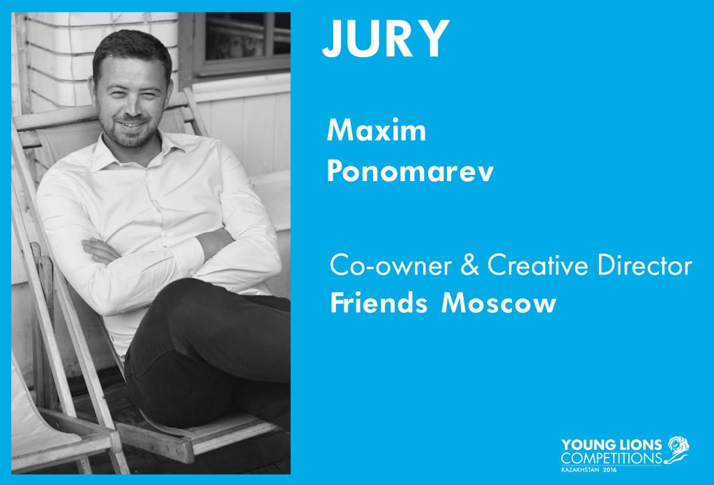 Maxim Ponomarev jury